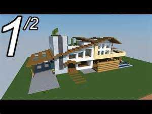 minecraft tutoriel maison moderne vid 233 o 1 2