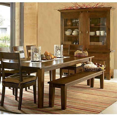 basque honey 104 quot dining table crate and barrel barrels