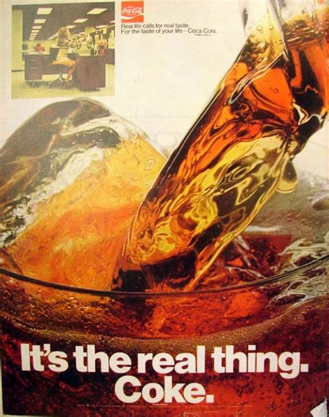 Coke Is The Real Thing For Andy by It S The Real Thing Coke 1 1970