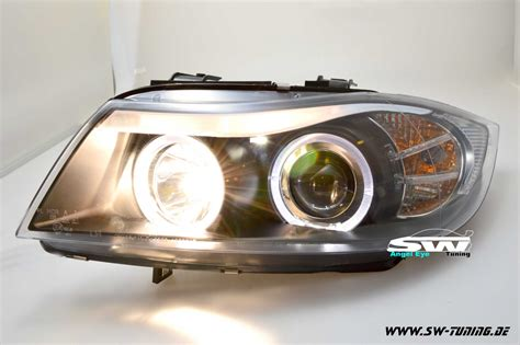 led len kaufen eye headlights 3er bmw e90 e91 led helo rims black