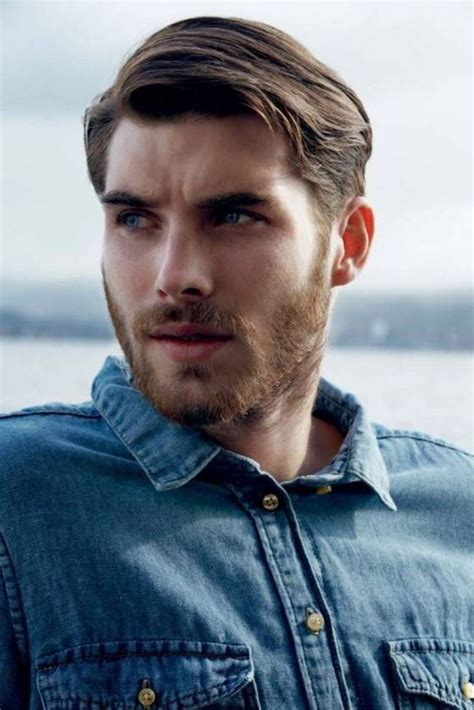 men s side parted hairstyles 2016 men s hairstyles and 259 best images about mannen kapsels on pinterest trendy