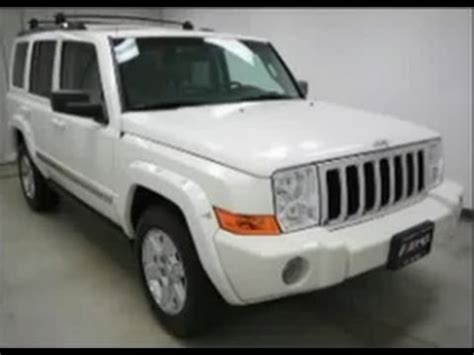 accident recorder 2008 jeep commander electronic toll collection 2006 jeep commander limited hemi 4x4 youtube