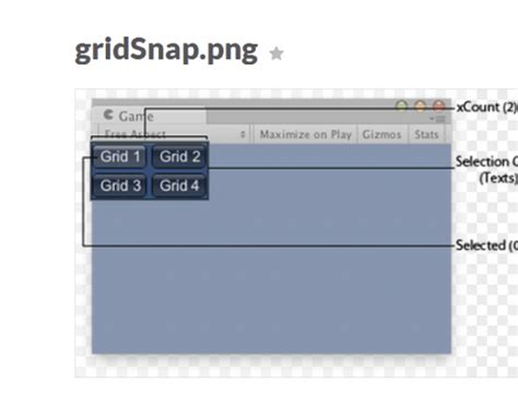 unity gui grid layout how to use selectiongrid function in unity 3d assist