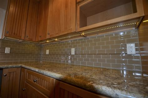 undermount kitchen lights cabinet lighting low voltage contractor talk