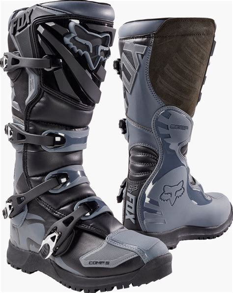 discount motocross boots 219 95 fox racing mens comp 5 offroad riding boots 995413