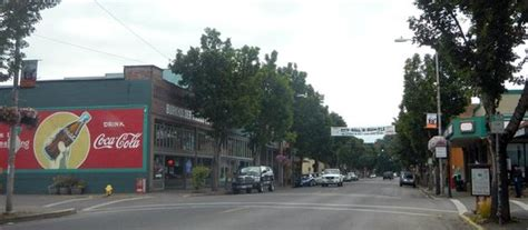 Things To Do In Cottage Grove Oregon by The Historic District During Construction Picture Of
