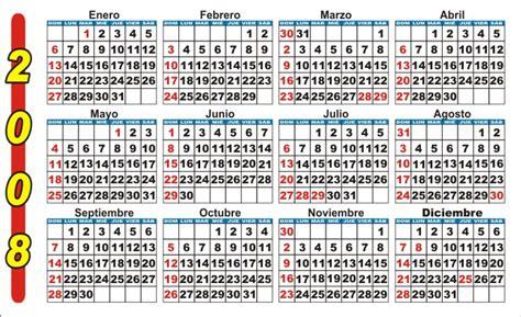 Calendario Ano 2008 Calendari 2008 Imagui