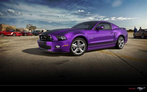the gallery for gt black blue and purple hair purple black mustang gt front view cars pinterest
