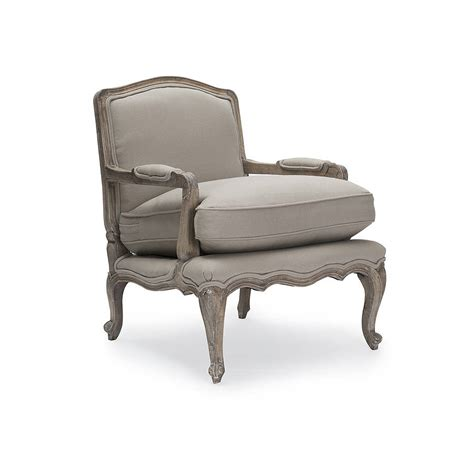 rochelle french armchair rochelle putty french armchair by within home