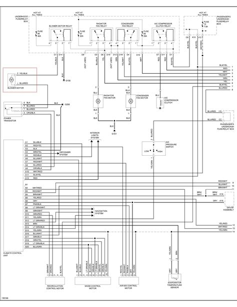 need wiring diagram for 2000 acura tl blower motor