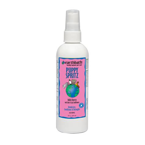 earthbath puppy shoo earthbath totally deodorizing spritz for puppies petco