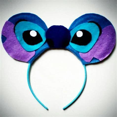 stitches manualidades stitch mouse ears headband lilo manualidades