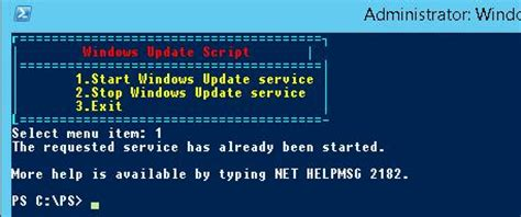 for colored script adding a simple colorful menu to powershell script