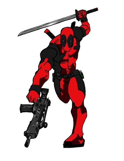 deadpool colors deadpool ink and color by panagiotis xynogalas on deviantart
