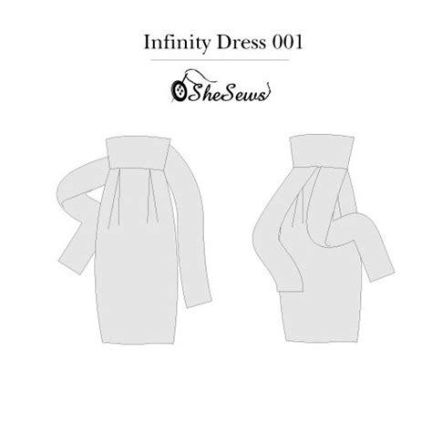 infinity dress pattern free infinity dress pattern pdf型紙のダウンロード無料配布 gro 223 e