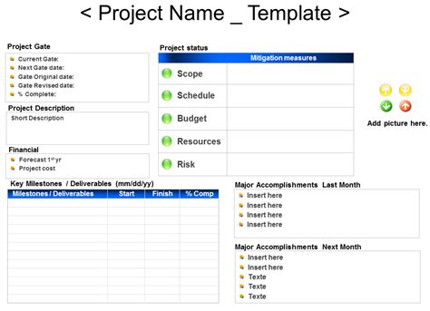 project status report template word 2010 monthly status report template project management images gt gt project status report template