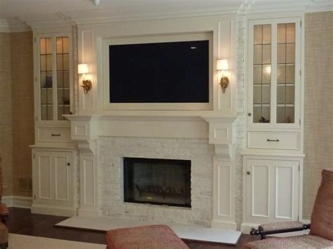fireplace surround and bookcases what a way to