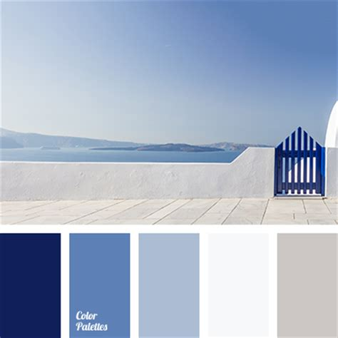 Color Combination With White a harmonious combination from white to violet dark blue