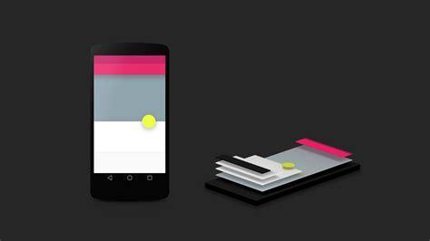 l designer android l material design smarte benachrichtigungen und