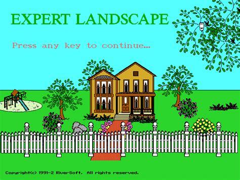 landscape design expert winworld expert landscape design 1992