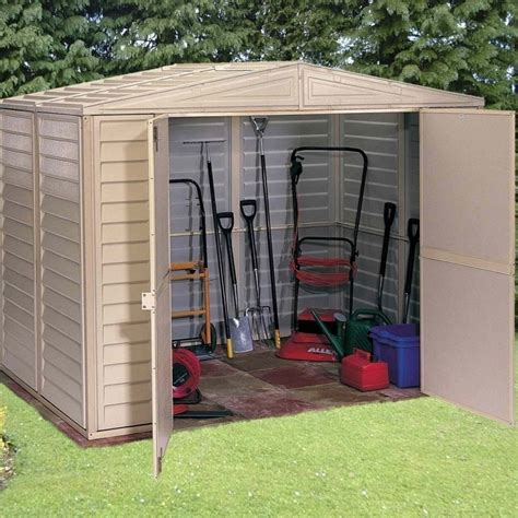 8x5 Shed by Duramax Duramate Plastic Apex Shed 8x5 Garden