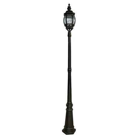 outdoor 3 light l post bel air lighting 3 light outdoor post bel air lighting