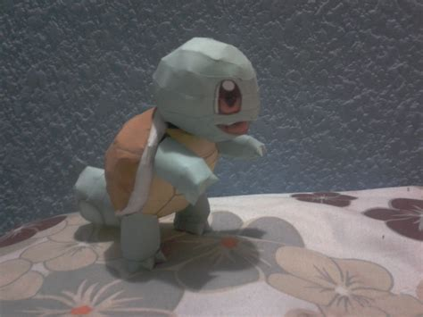 Squirtle Papercraft - squirtle papercraft by javierini on deviantart