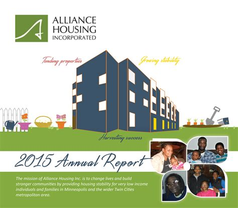 alliance housing alliance housing