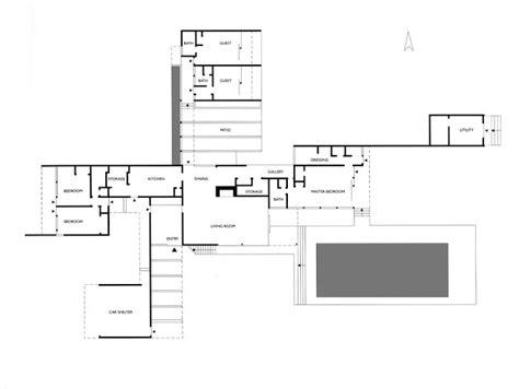 neutra house plans kaufmann house richard neutra detached house plans