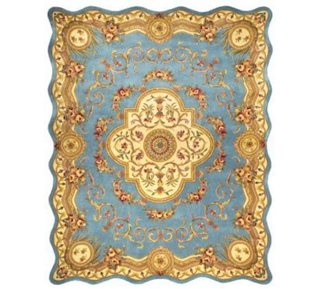 Royal Palace Rug by Royal Palace Magnifique Scalloped Edge 8 X 10 Wool Rug