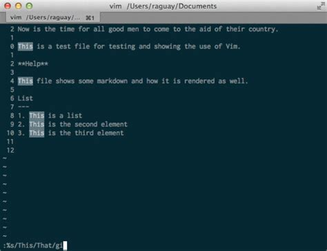 Vim Search Insensitive Vim For Beginners