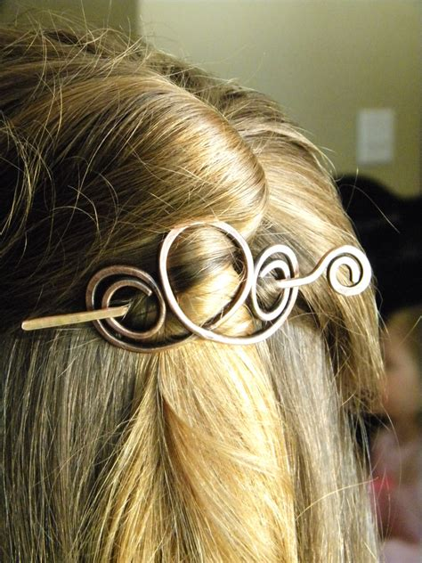 hair clip hair accessories hair sticks copper hair