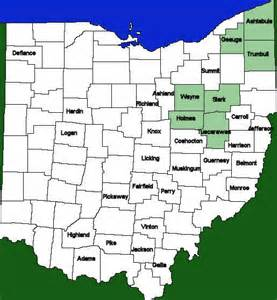 Amish Country Ohio Map by Amish Country Locations In Ohio Look No Further