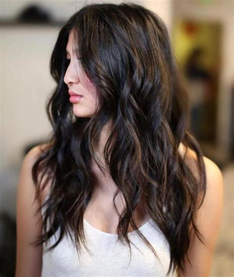 hairstyles for long black hair with layers 80 cute layered hairstyles and cuts for long hair in 2016