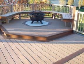 Can You Put Fire Pit On Wood Deck by Best Home Deck Design Ideas Designbuzz