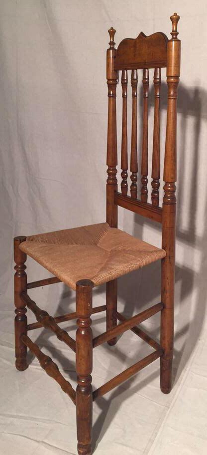 antique banister antique bannister back side chair