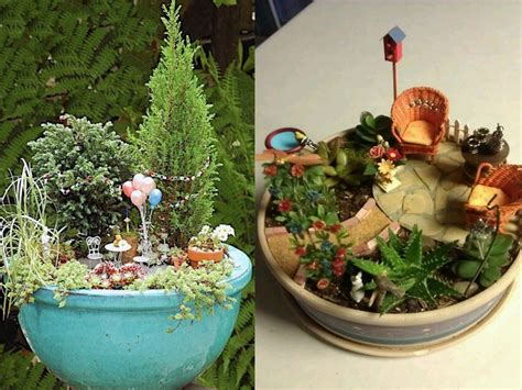 imagenes de jardines originales 7 jardines en miniatura muy originales