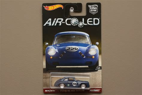 Hotwheels Air Cooled Porsche 356a Outlaw wheels 2017 car culture air cooled porsche 356a outlaw