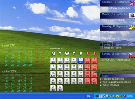 Calendario Area De Trabalho Window Soft Market Active Desktop Calendar 7 96 Free