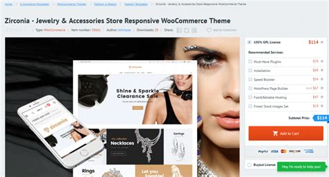 wordpress themes jewelry store top 10 best wordpress ecommerce themes check live demo now