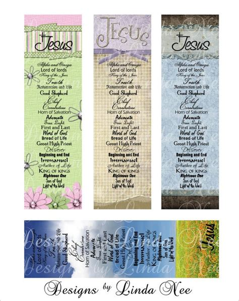 free printable name bookmarks christian bookmark template 33 free psd ai vector eps