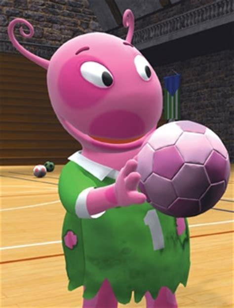 soccer monster uniqua  backyardigans wiki