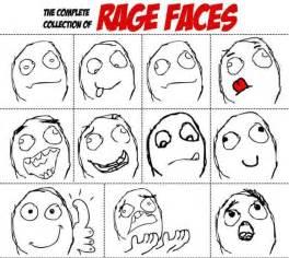 Meme Face Collection - rage face diagram trollolol noobs