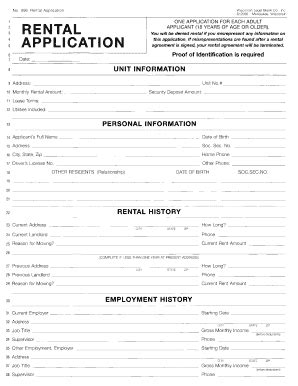 printable lease agreement wisconsin wisconsin rental application fill online printable