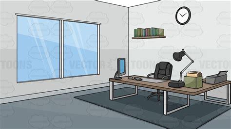 A Modern Office Background Cartoon Clipart Vector Toons
