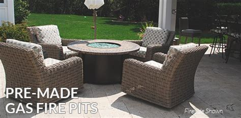 outdoor gas pit kits outdoor gas pits gas propane