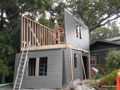 how to build a two story shed two story garage with 240 sq ft cottage
