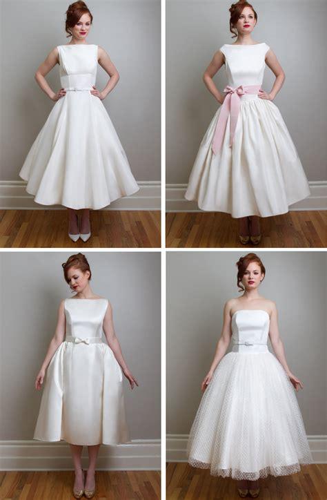 Vintage Wedding Dresses Nyc by Vintage Inspired Tea Length Wedding Dresses Fancy New York