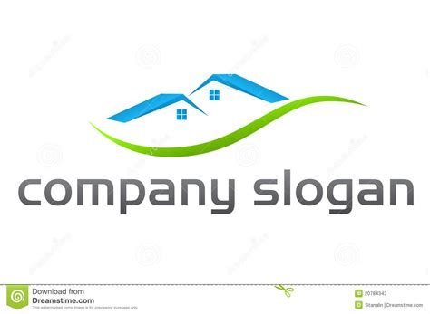 house logos real estate house logo stock photos image 20784343