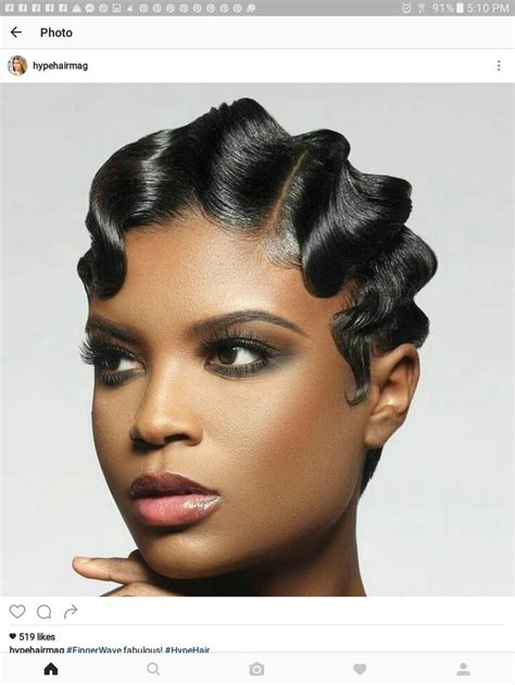 black women on pinterest with fingerwave and curl hairstyles 25 best ideas about finger waves on pinterest finger